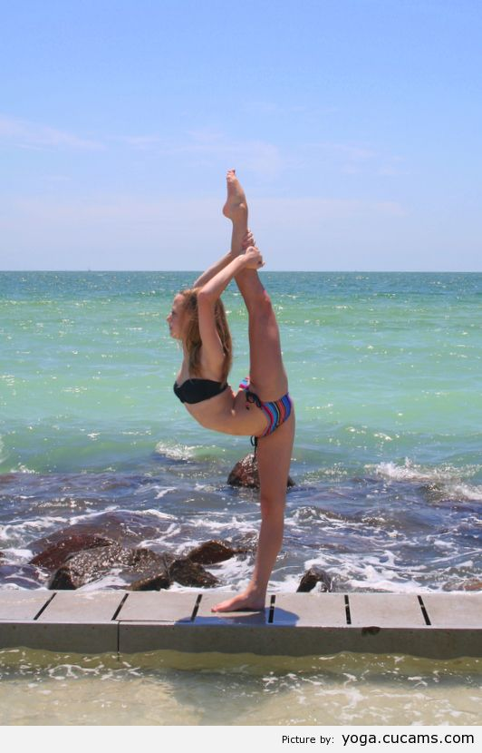 Yoga Parody Vampire by yoga.cucams.com