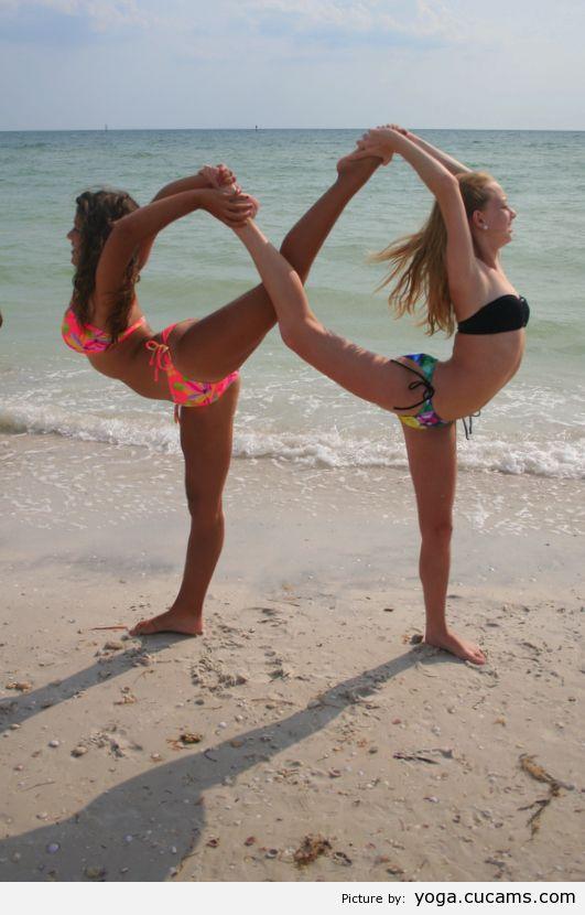 Yoga Panties Precum by yoga.cucams.com